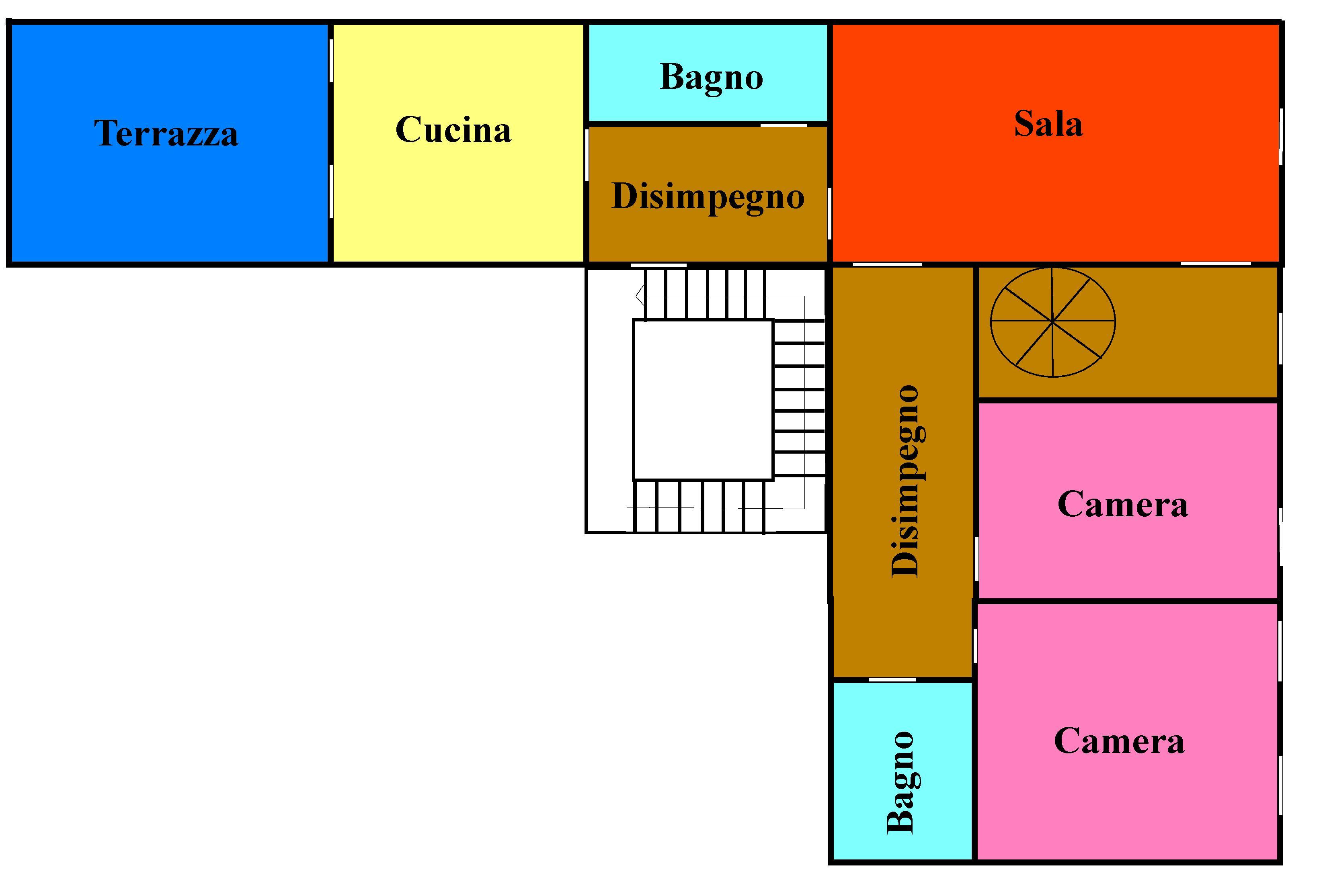 Planimetria 1/1 per rif. 630