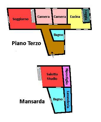 Planimetria 1/1 per rif. 532