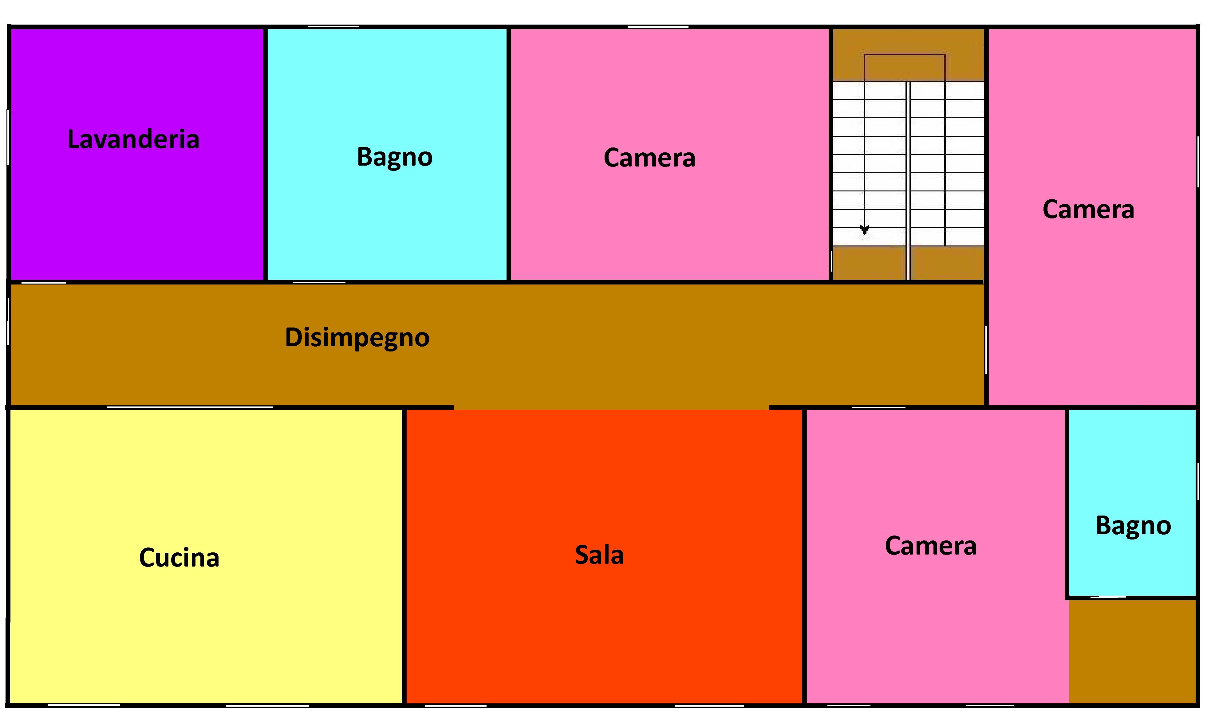 Planimetria 1/1 per rif. 551