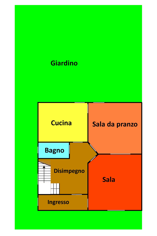 Planimetria 1/2 per rif. 728
