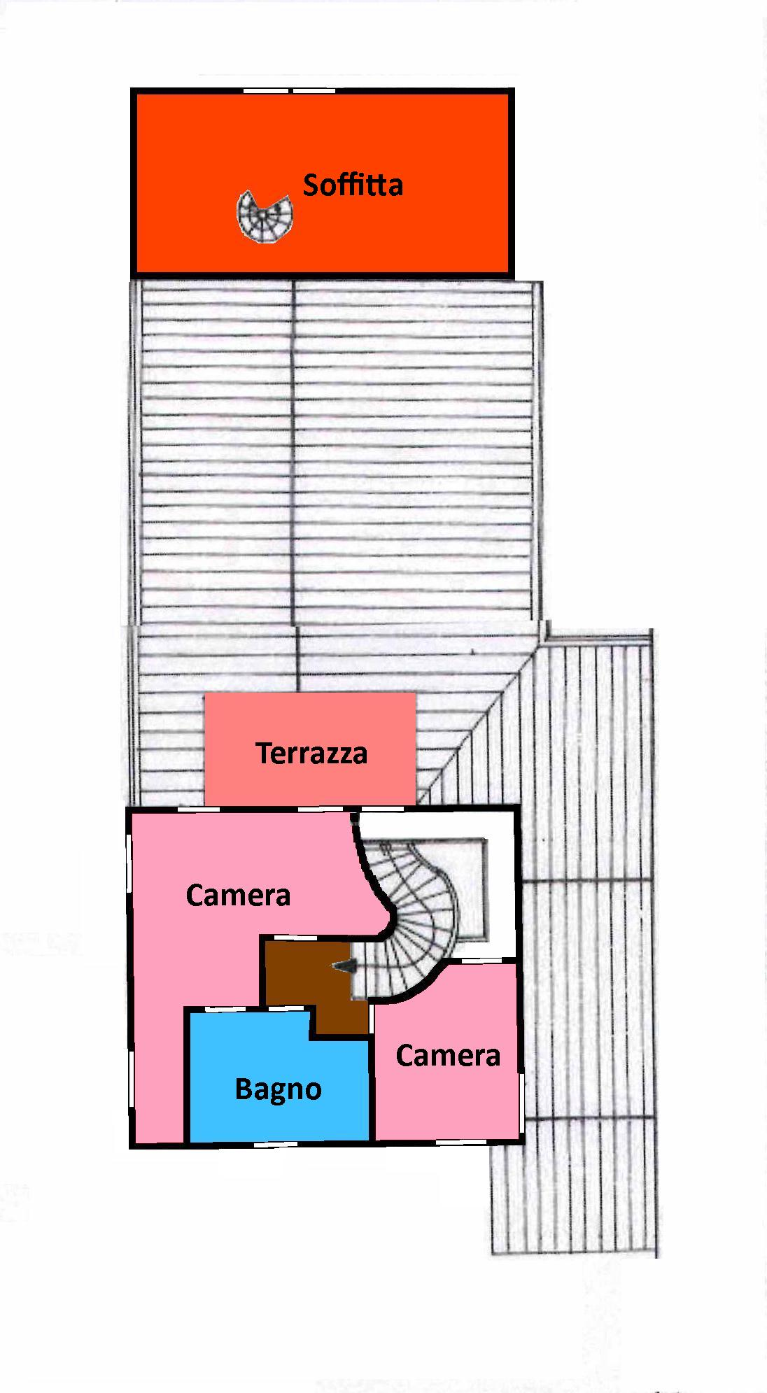 Planimetria 2/2 per rif. 707