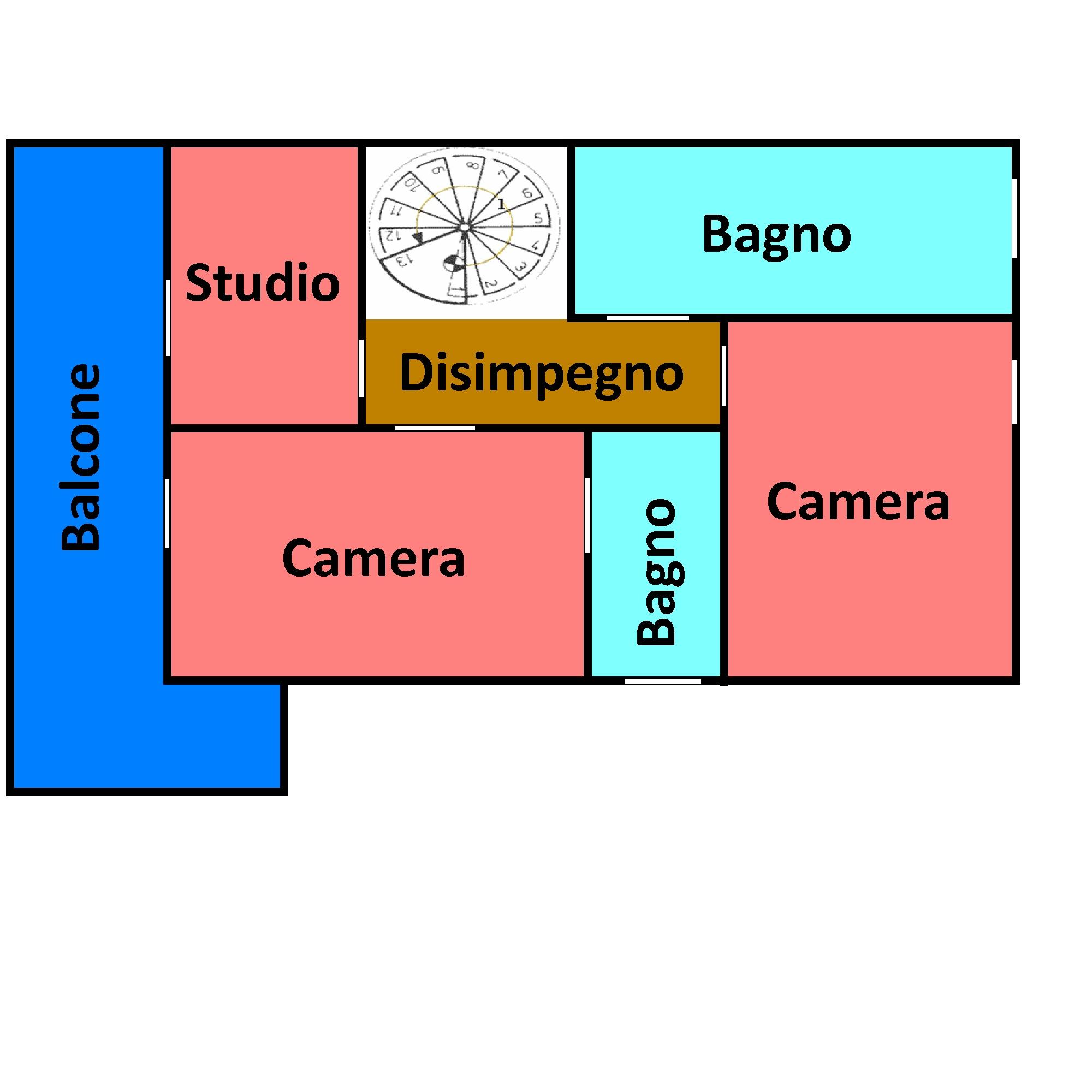 Planimetria 2/2 per rif. 348