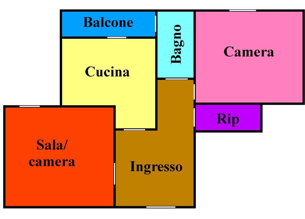 Planimetria 1/1 per rif. L131
