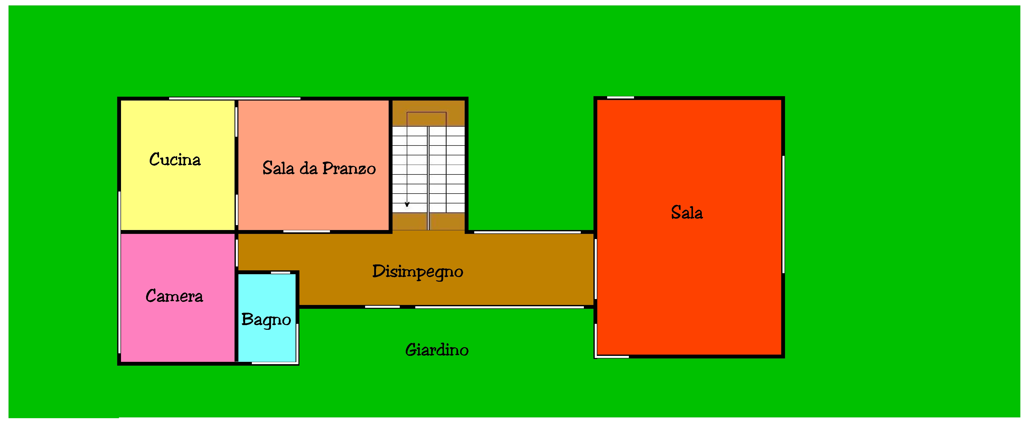Planimetria 1/1 per rif. 591