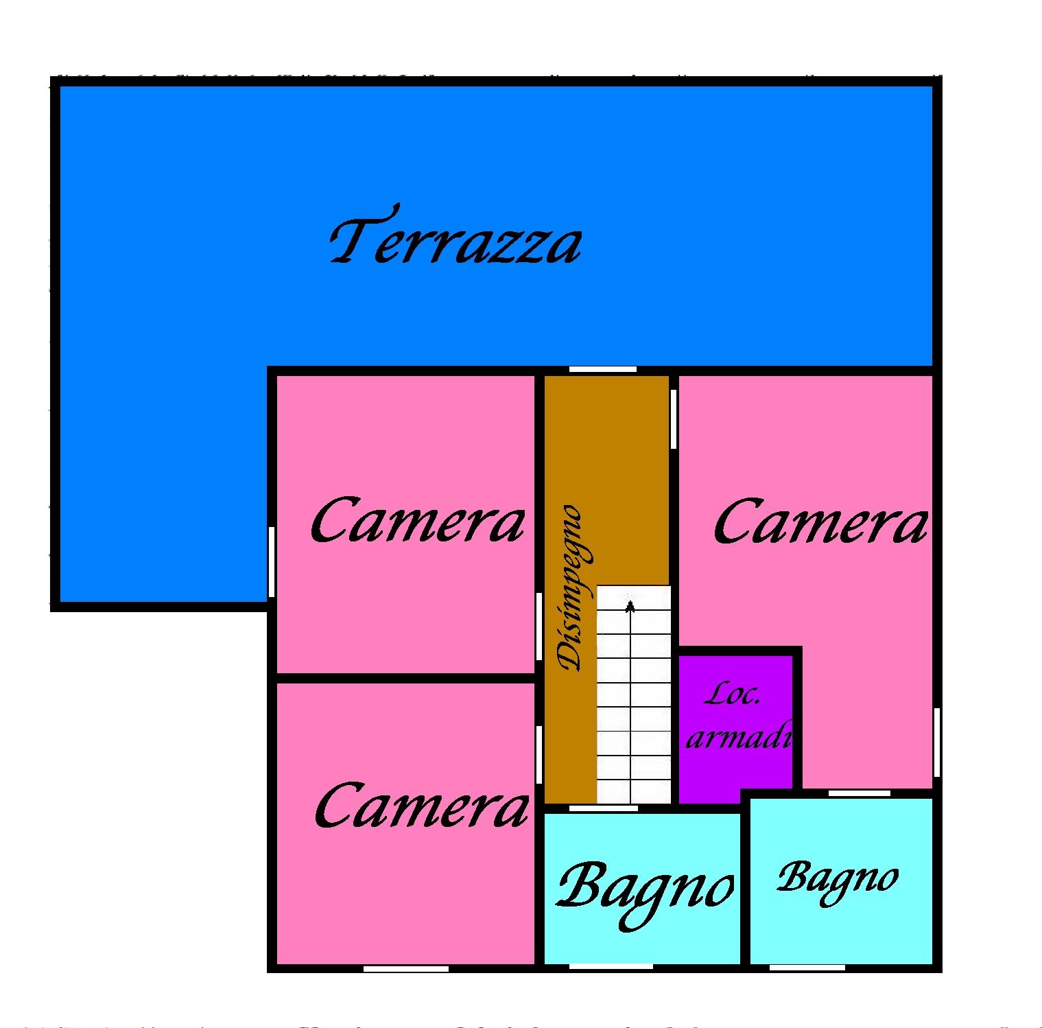 Planimetria 1/4 per rif. 768