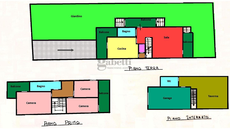 Planimetria 1/1 per rif. 360