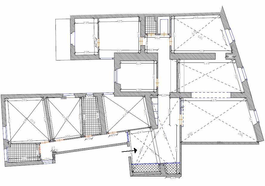 Planimetria 1/1 per rif. L163