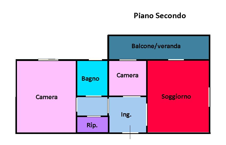 Planimetria 1/1 per rif. 150
