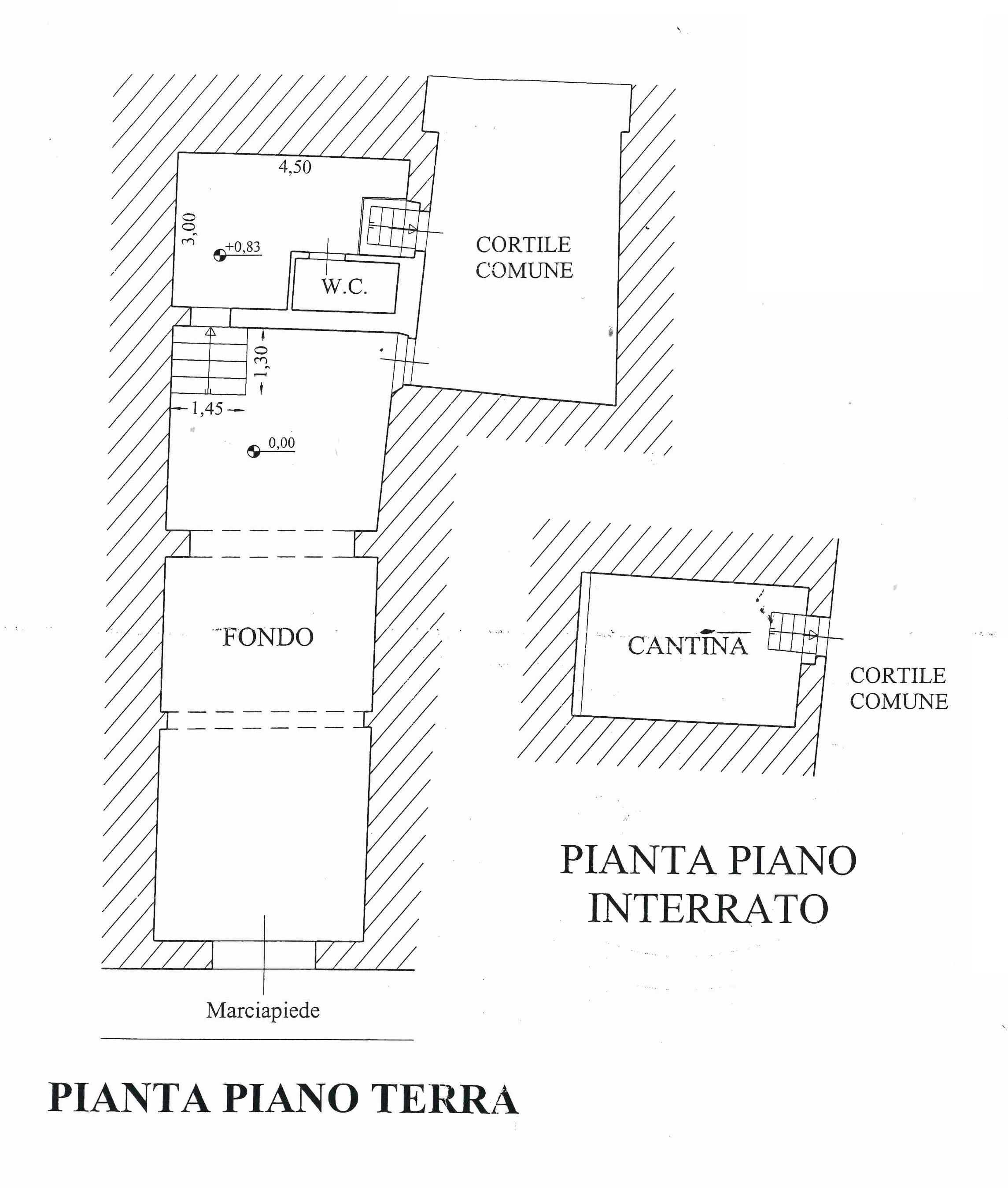 Planimetria 1/1 per rif. L135