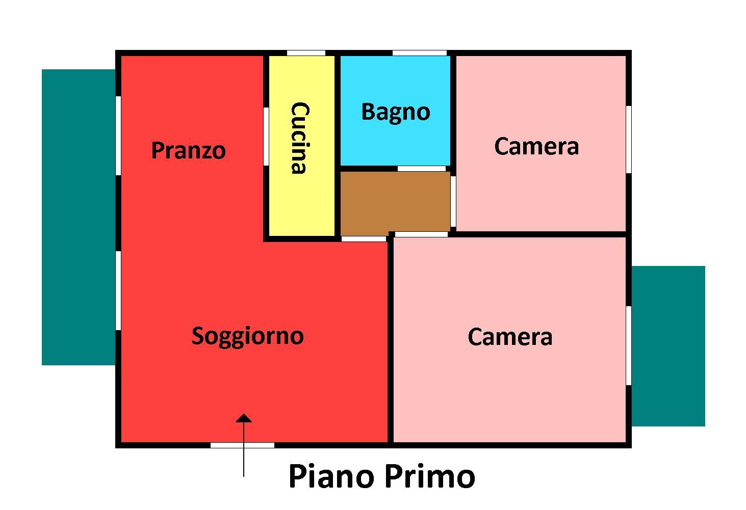 Planimetria 1/1 per rif. 148