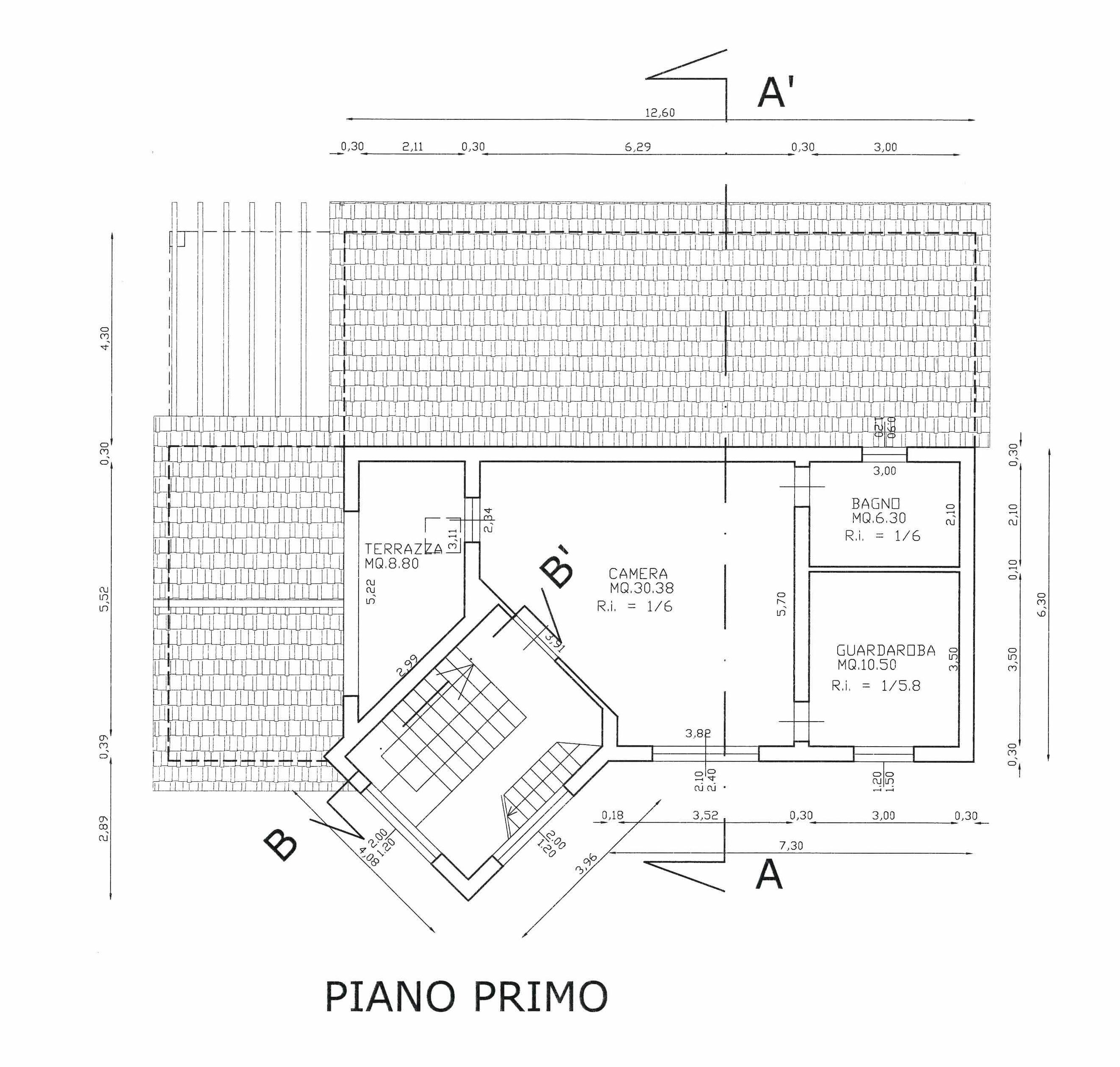 Planimetria 2/3 per rif. 346