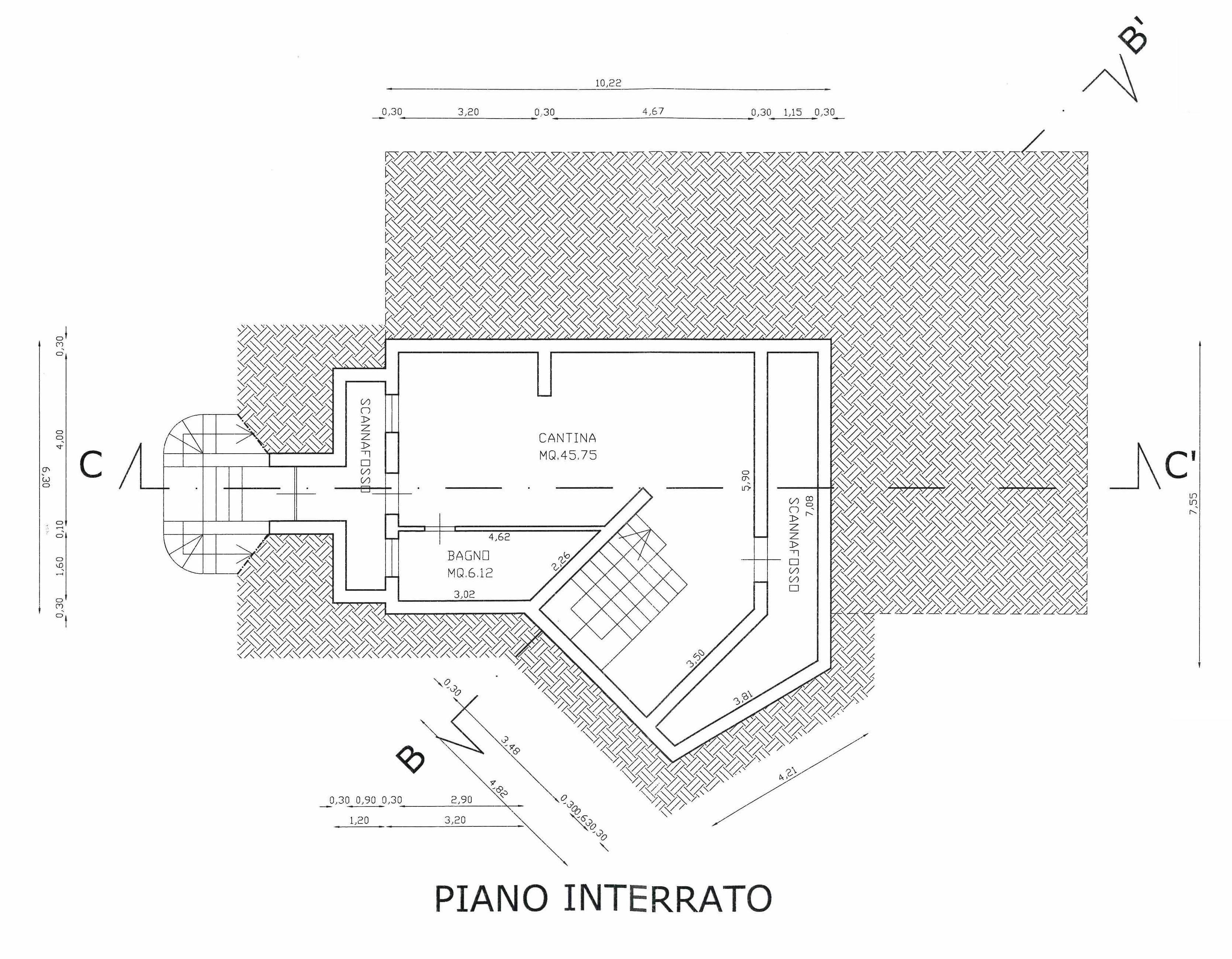 Planimetria 1/3 per rif. 346