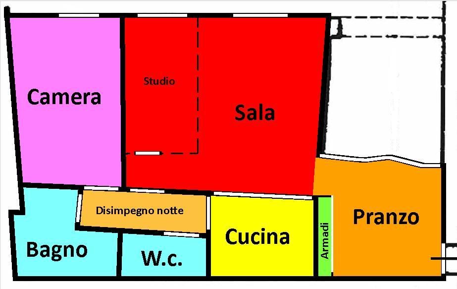 Planimetria 1/1 per rif. 297
