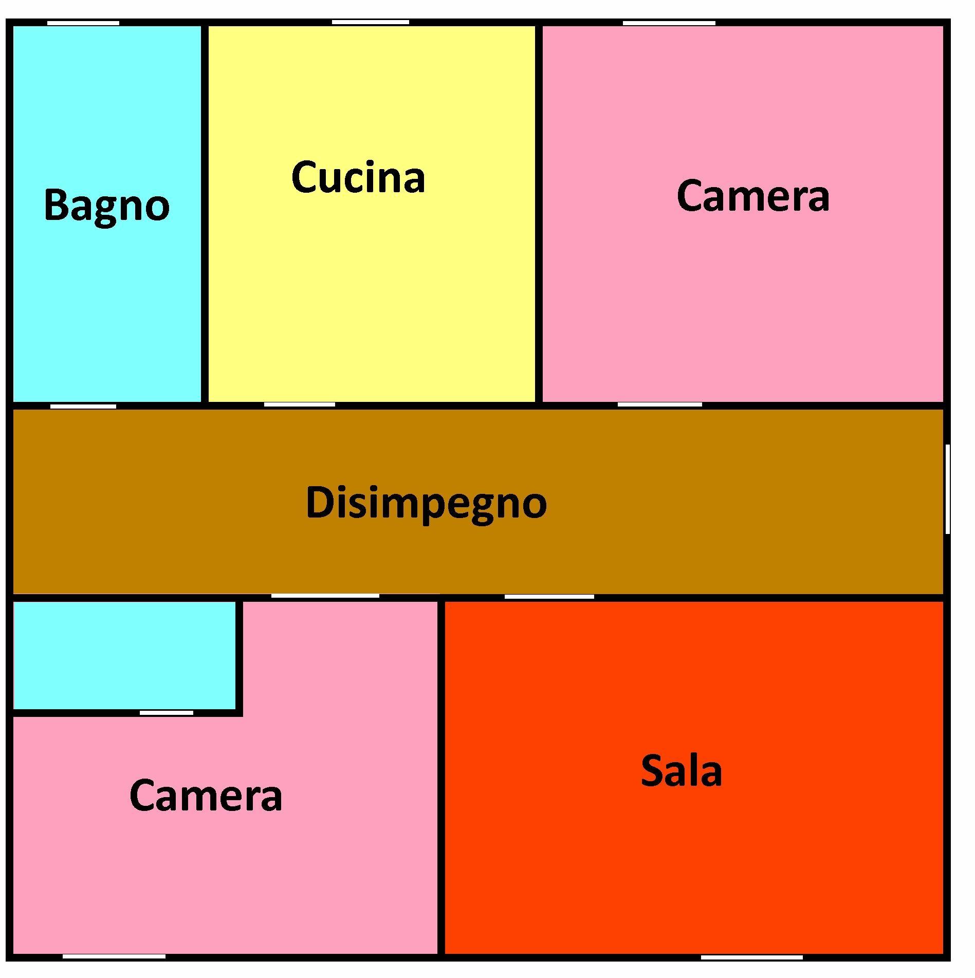 Planimetria 1/1 per rif. 341