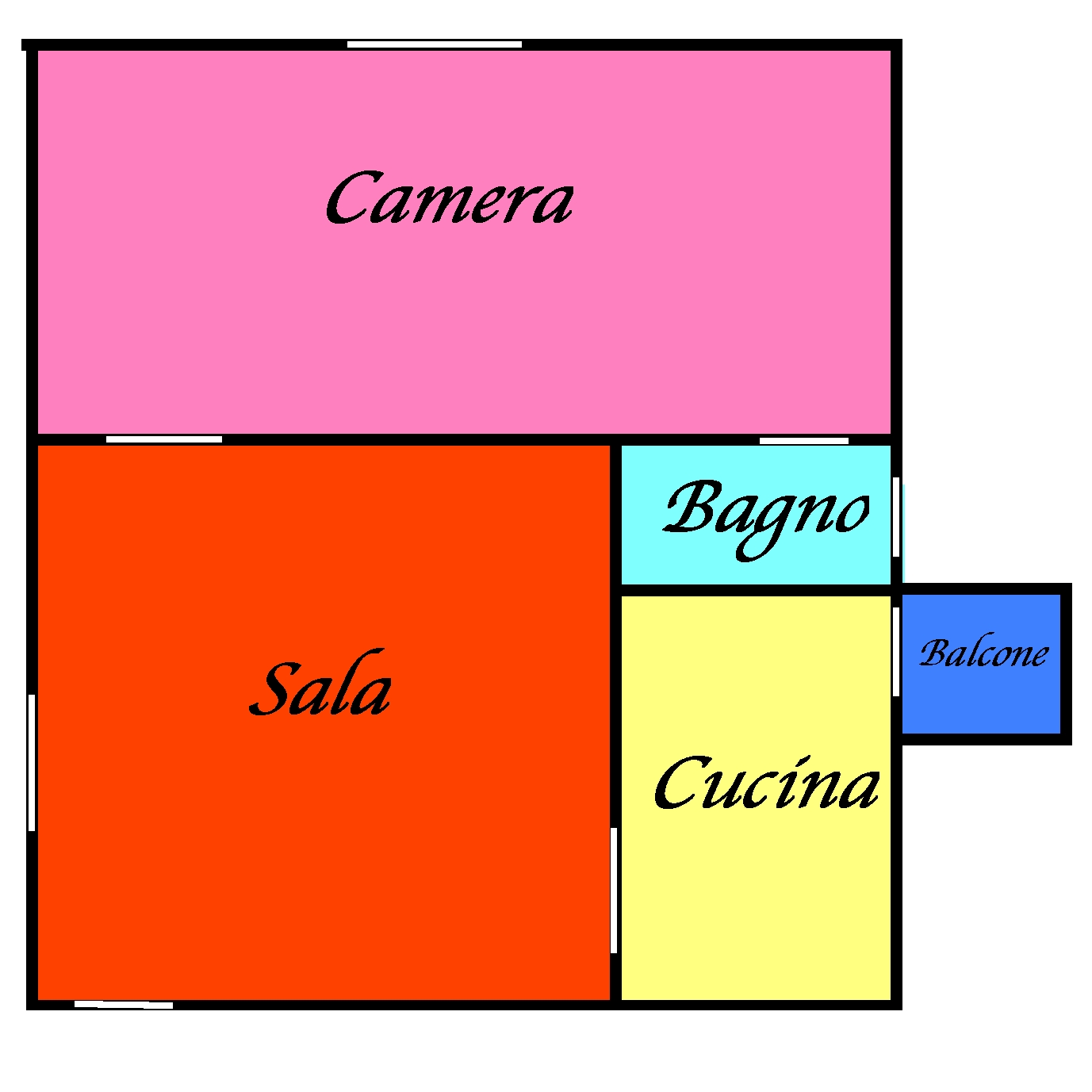 Planimetria 1/1 per rif. L125S