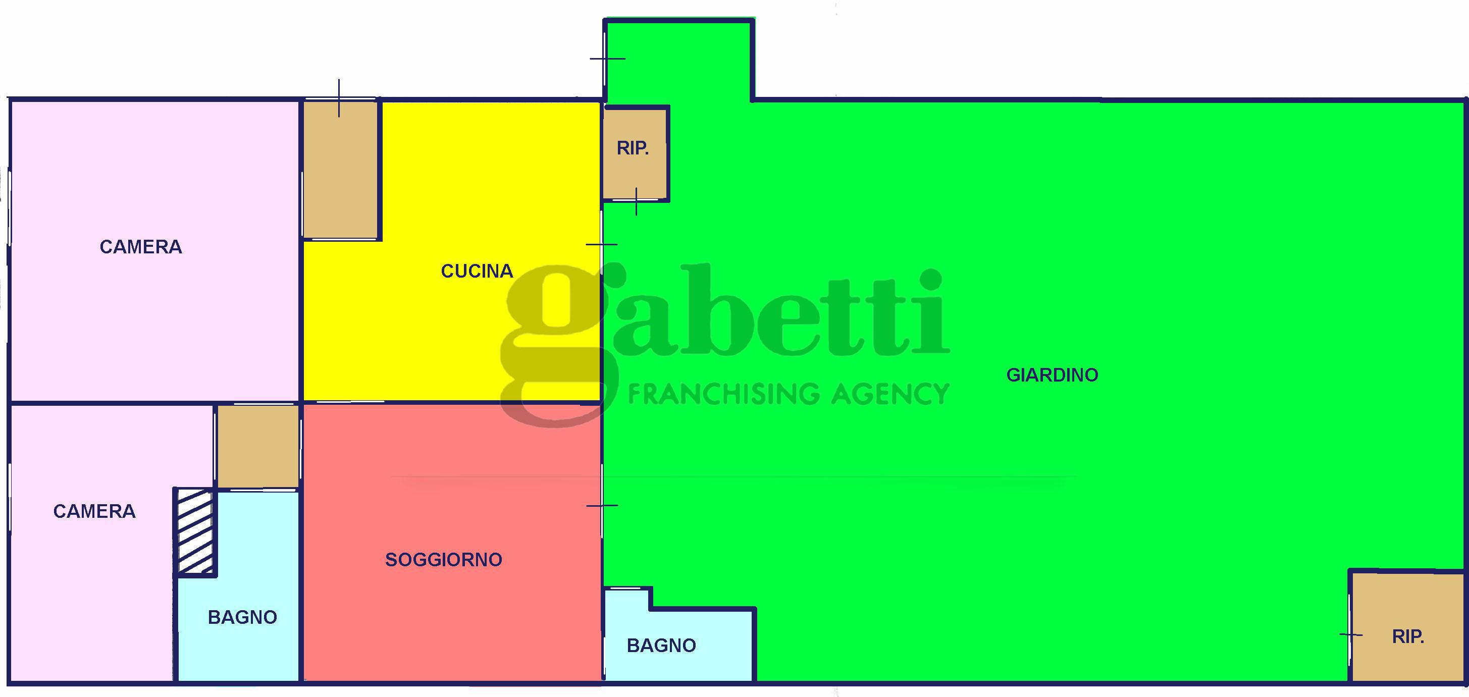 Planimetria 1/1 per rif. 211