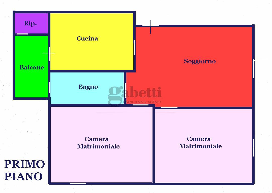 Planimetria 1/1 per rif. 153