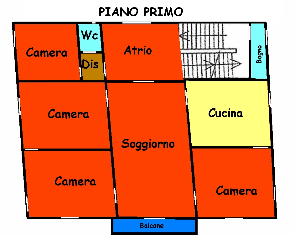 Planimetria 2/3 per rif. 765
