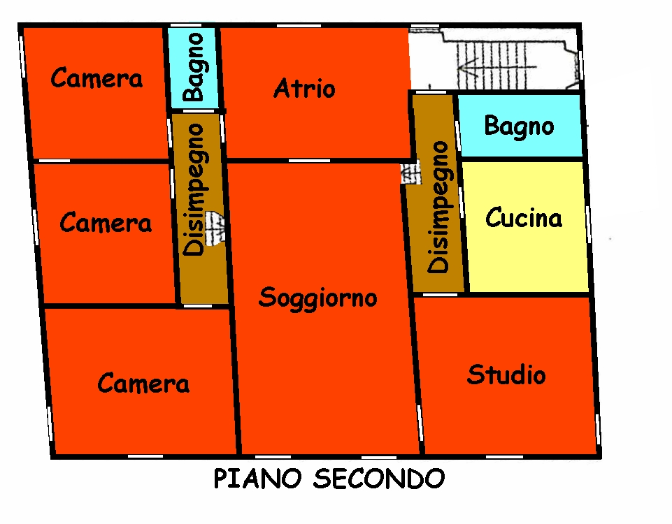 Planimetria 3/3 per rif. 765