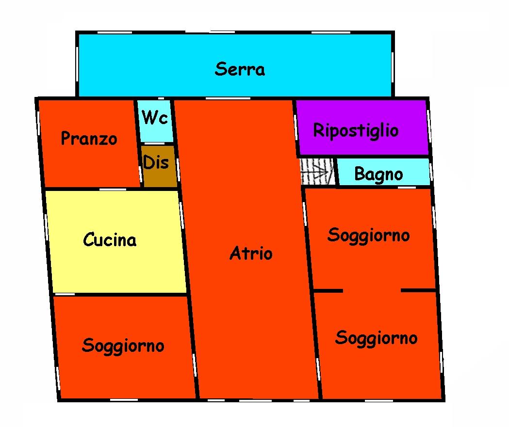 Planimetria 1/3 per rif. 765