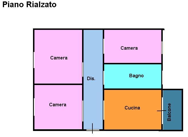 Planimetria 1/1 per rif. L146