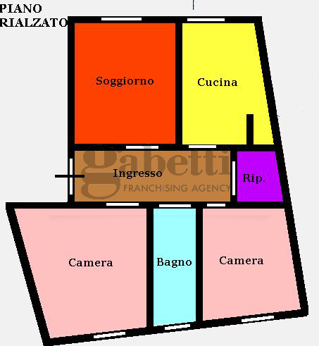 Planimetria 1/1 per rif. 147