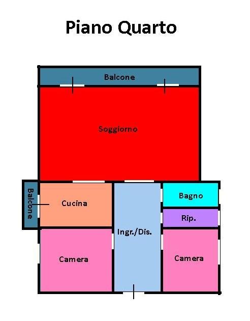 Planimetria 1/1 per rif. 191