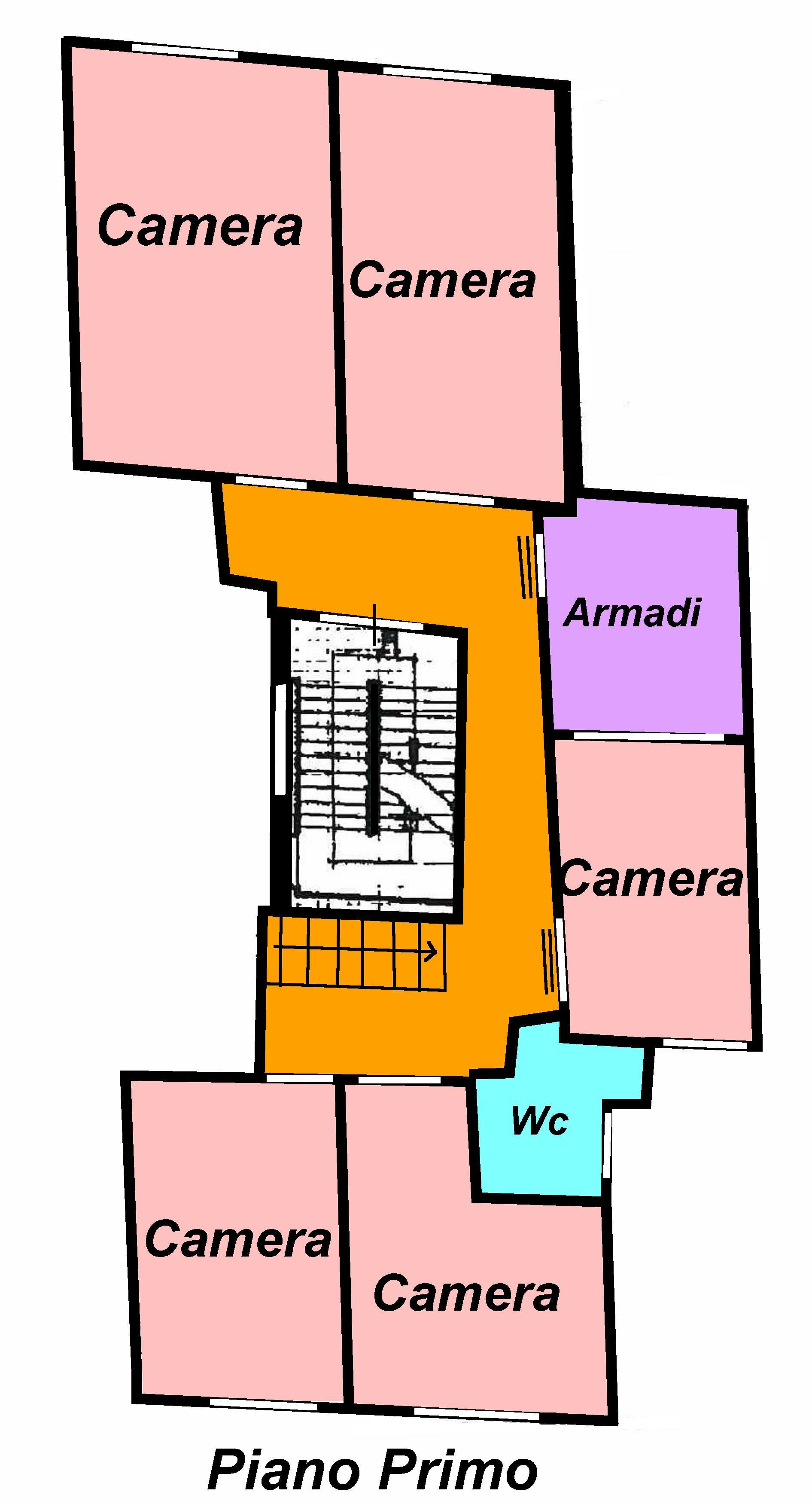 Planimetria 2/2 per rif. 754