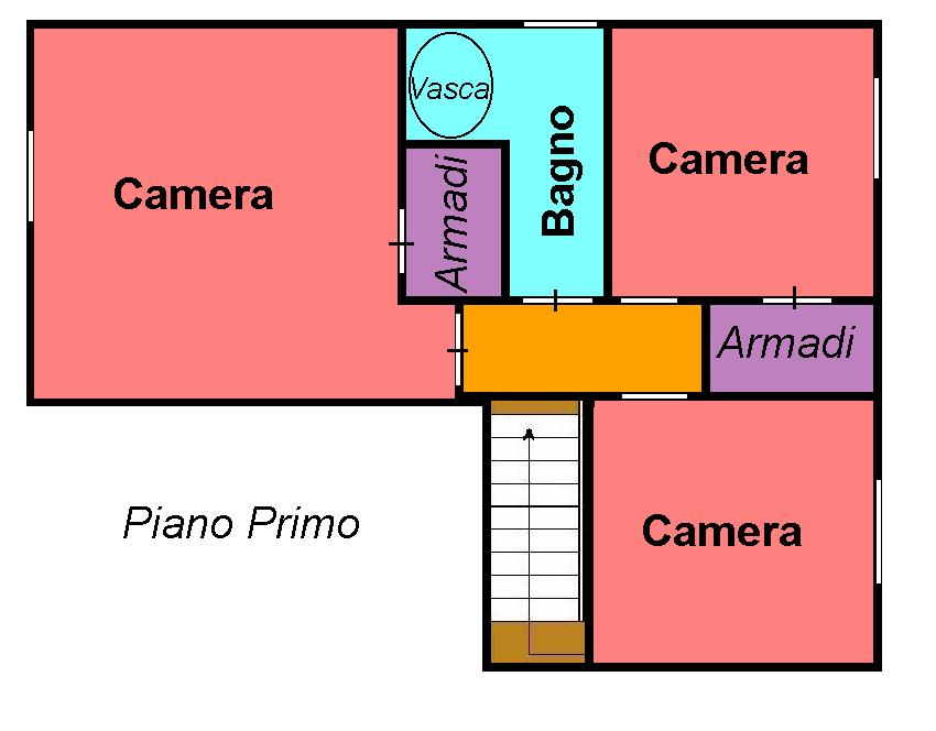 Planimetria 2/2 per rif. 316