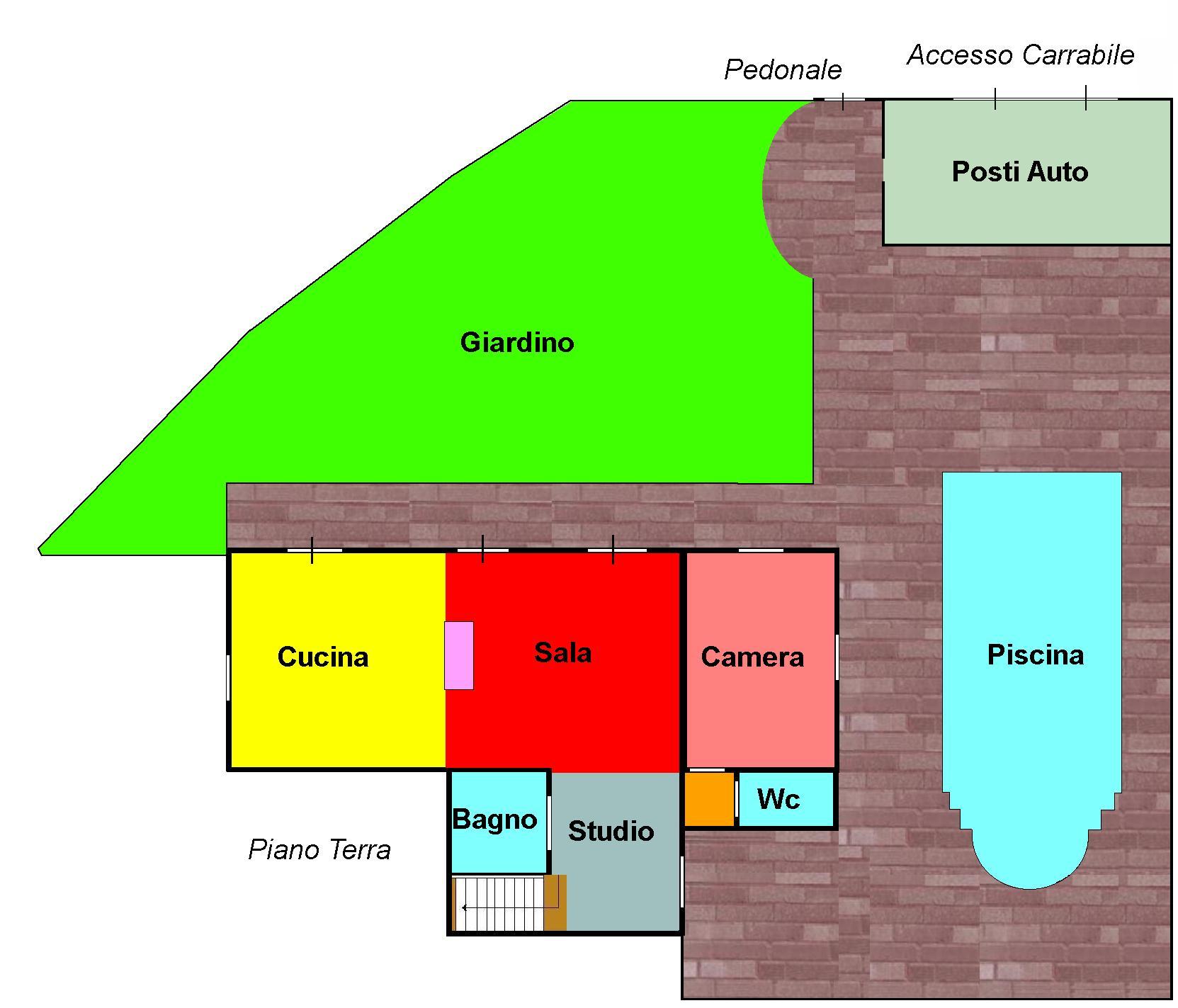Planimetria 1/2 per rif. 316