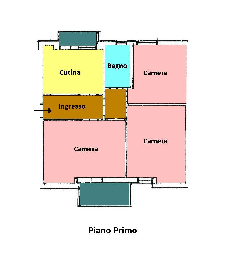 Planimetria 1/1 per rif. L121
