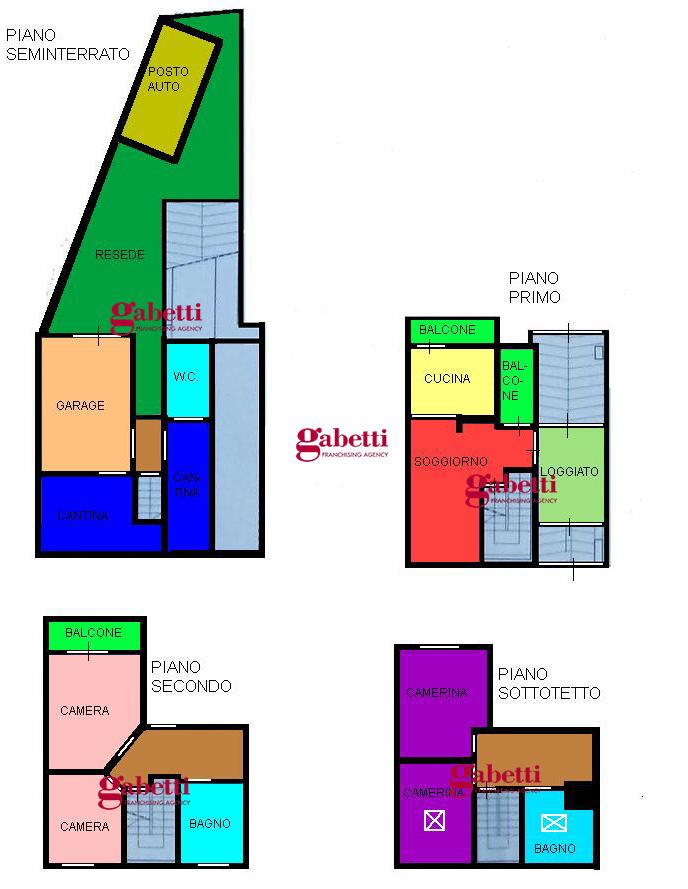 Planimetria 1/1 per rif. 267