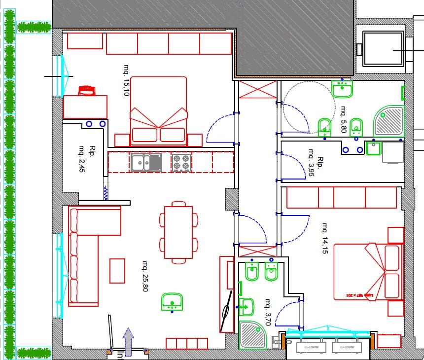Planimetria 1/1 per rif. 220/A