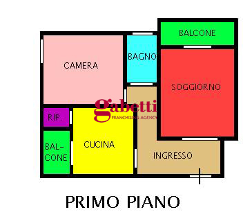 Planimetria 1/1 per rif. 166