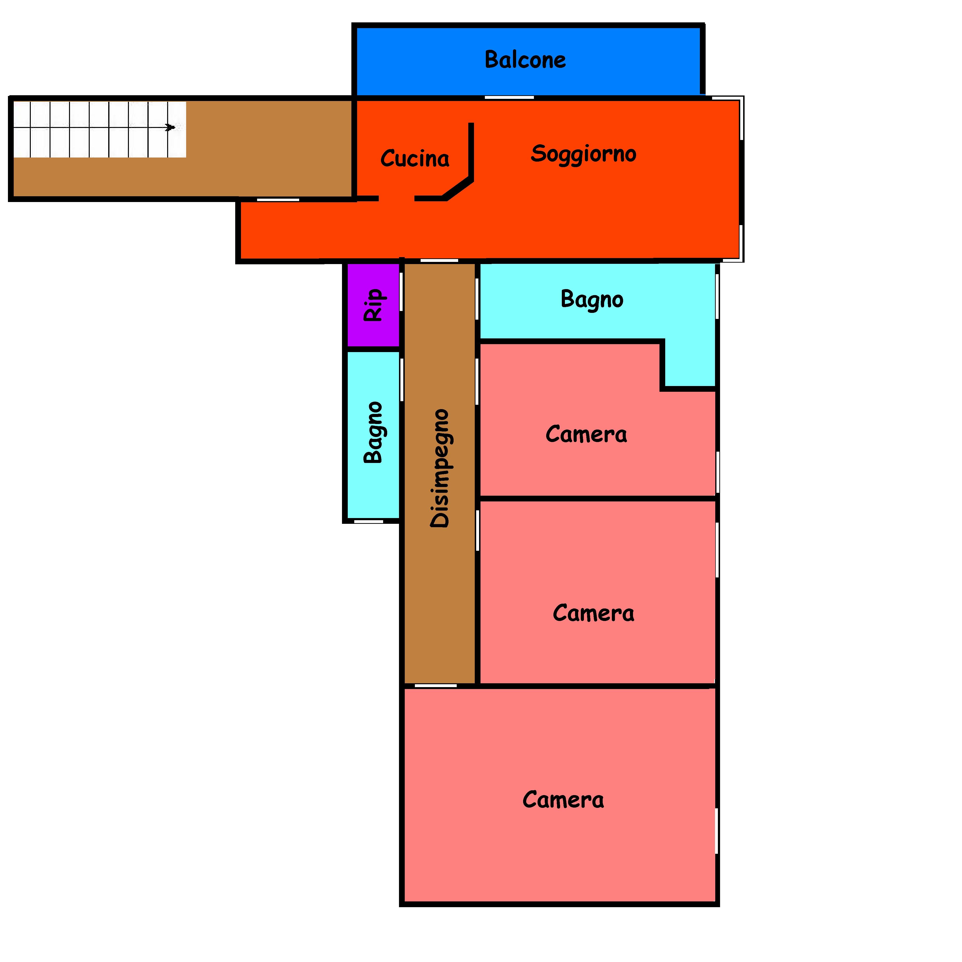 Planimetria 1/1 per rif. 258