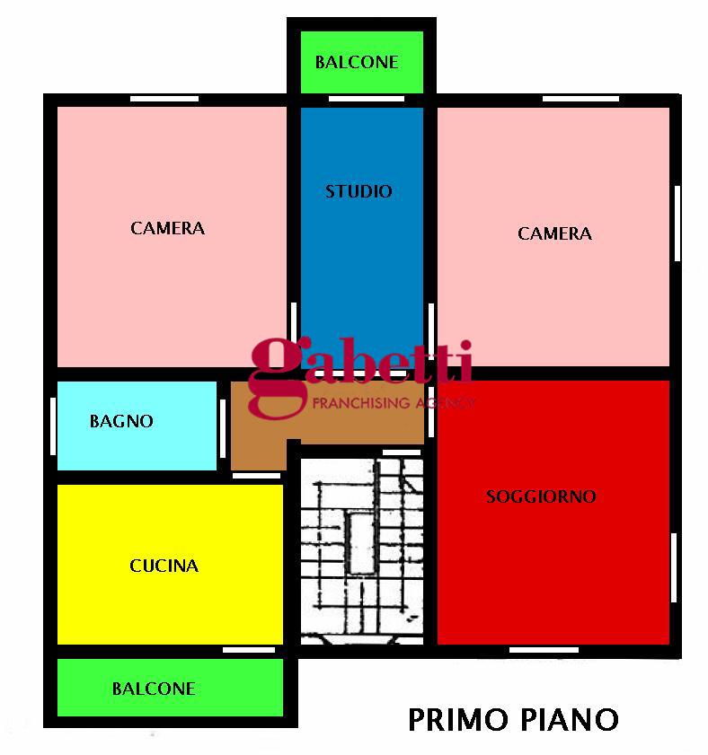 Planimetria 1/1 per rif. 282