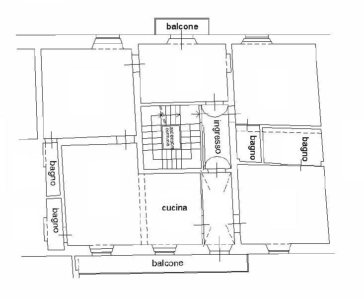 Planimetria 1/1 per rif. 612