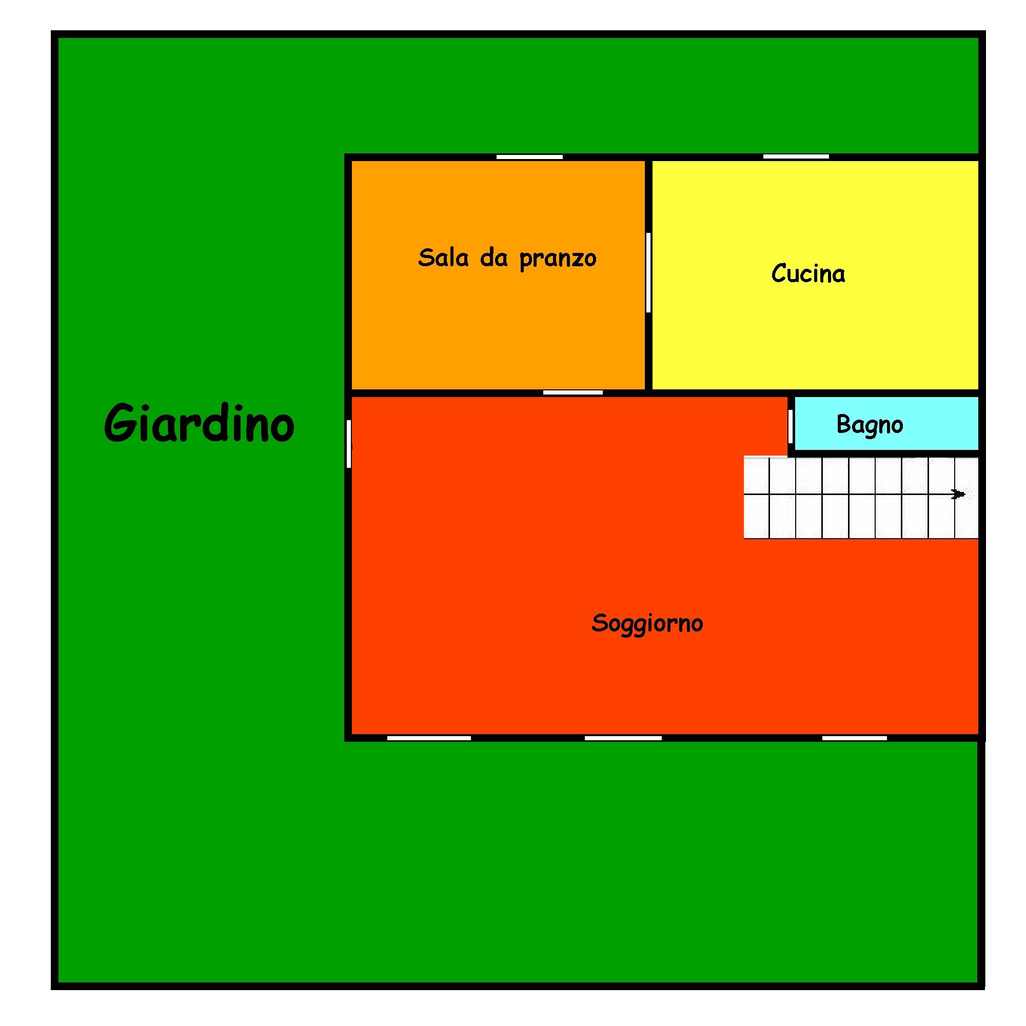 Planimetria 2/2 per rif. 720