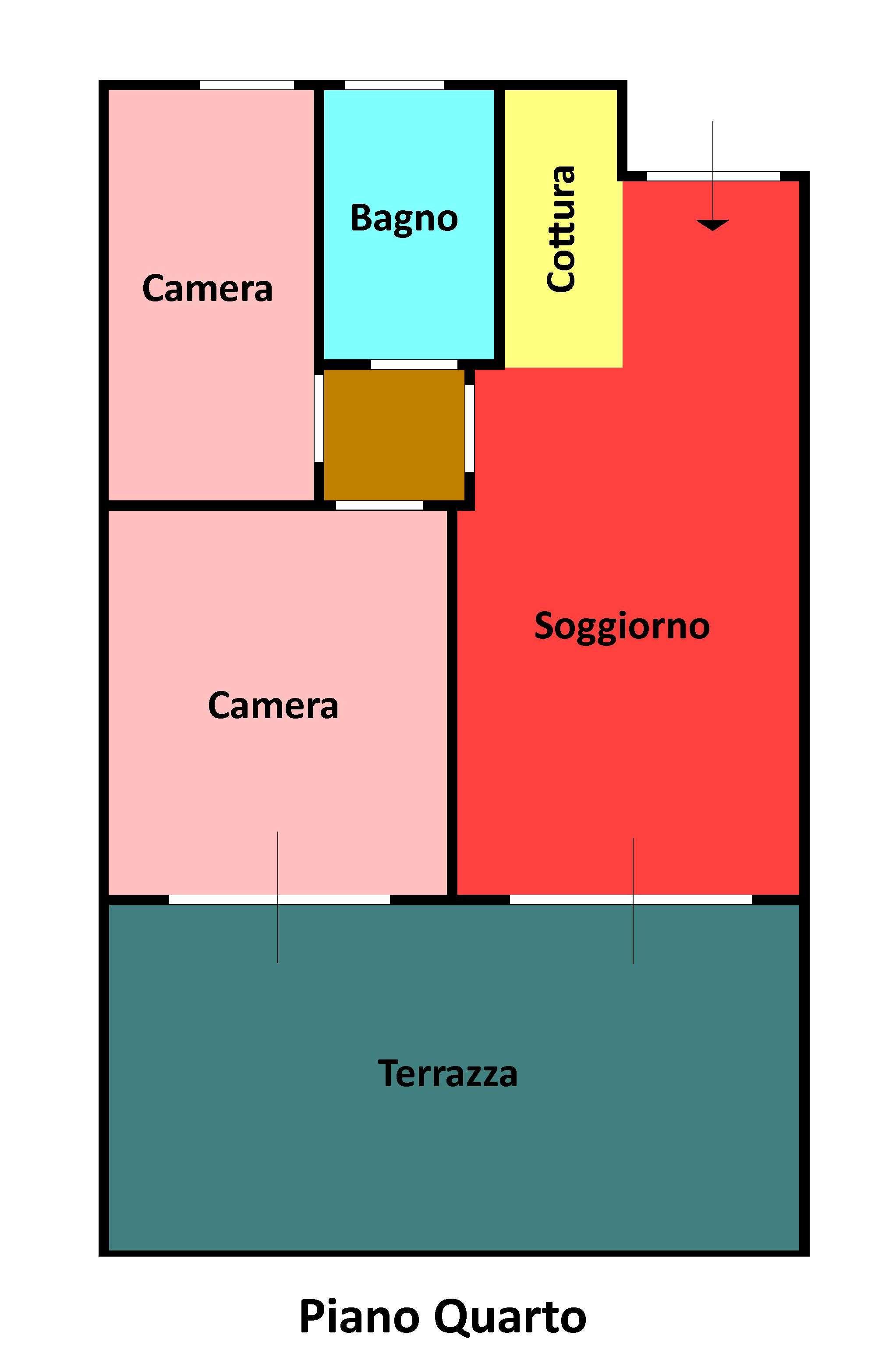 Planimetria 1/1 per rif. 146