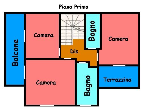 Planimetria 2/2 per rif. 481