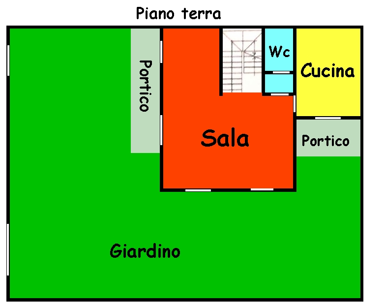 Planimetria 1/2 per rif. 481
