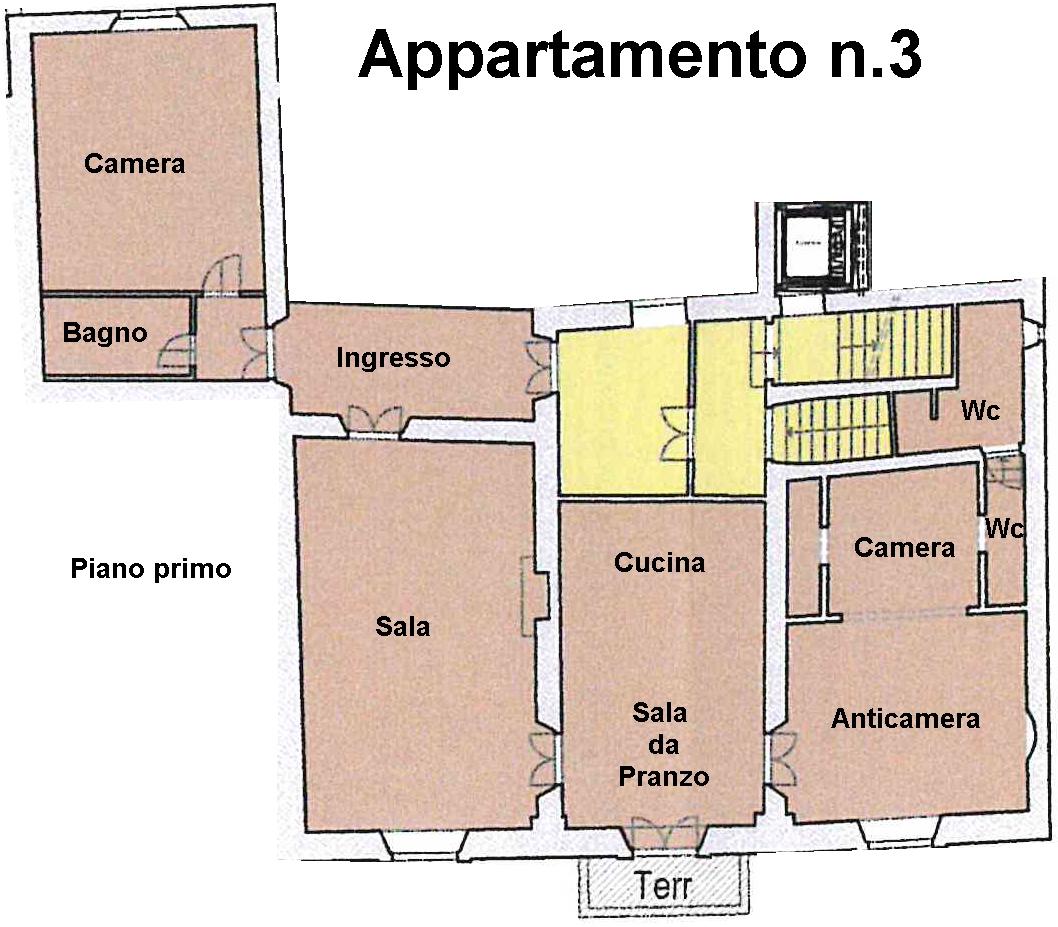 Planimetria 1/1 per rif. L100/3