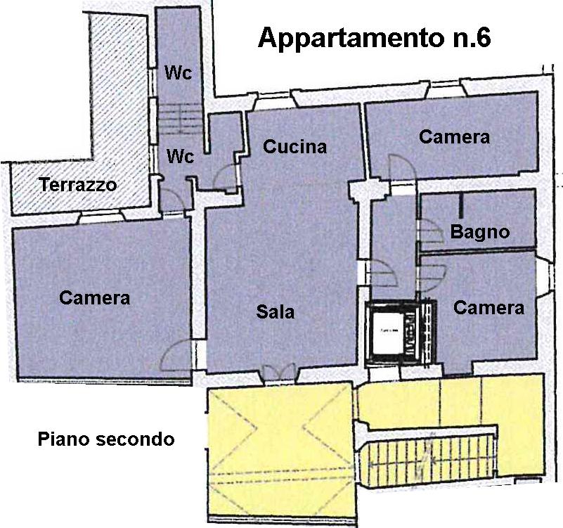 Planimetria 1/1 per rif. L100/6
