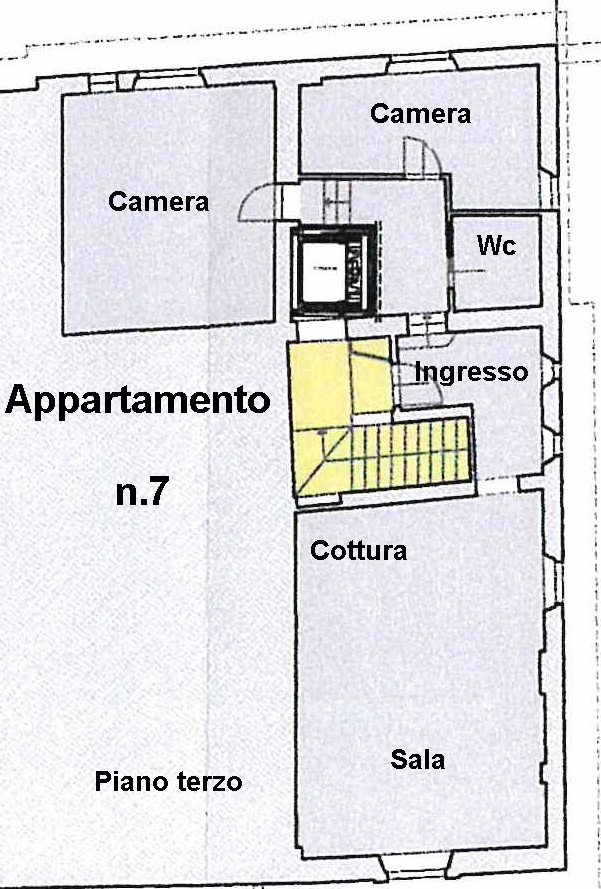 Planimetria 1/1 per rif. L100/7