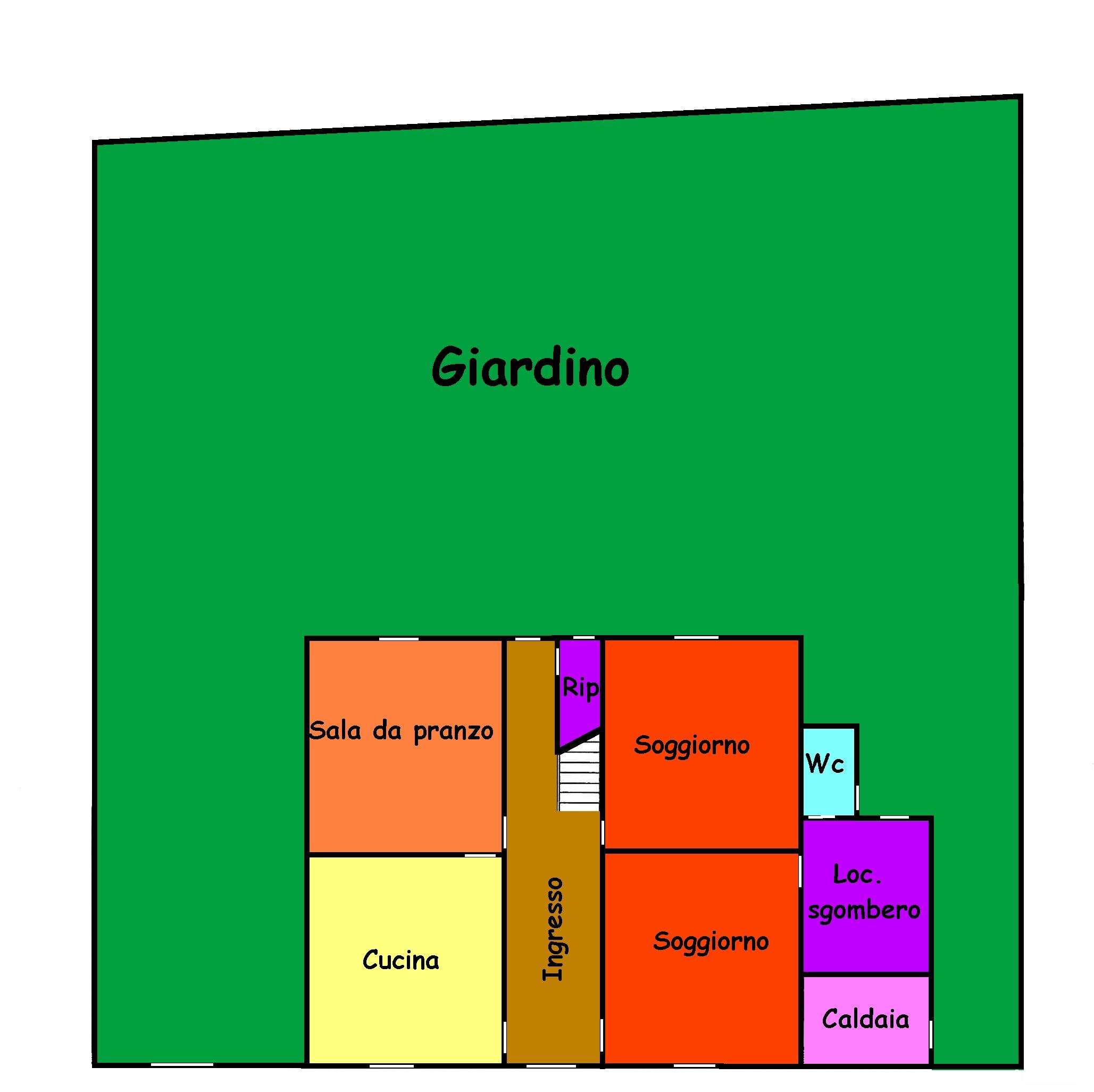 Planimetria 1/3 per rif. 749