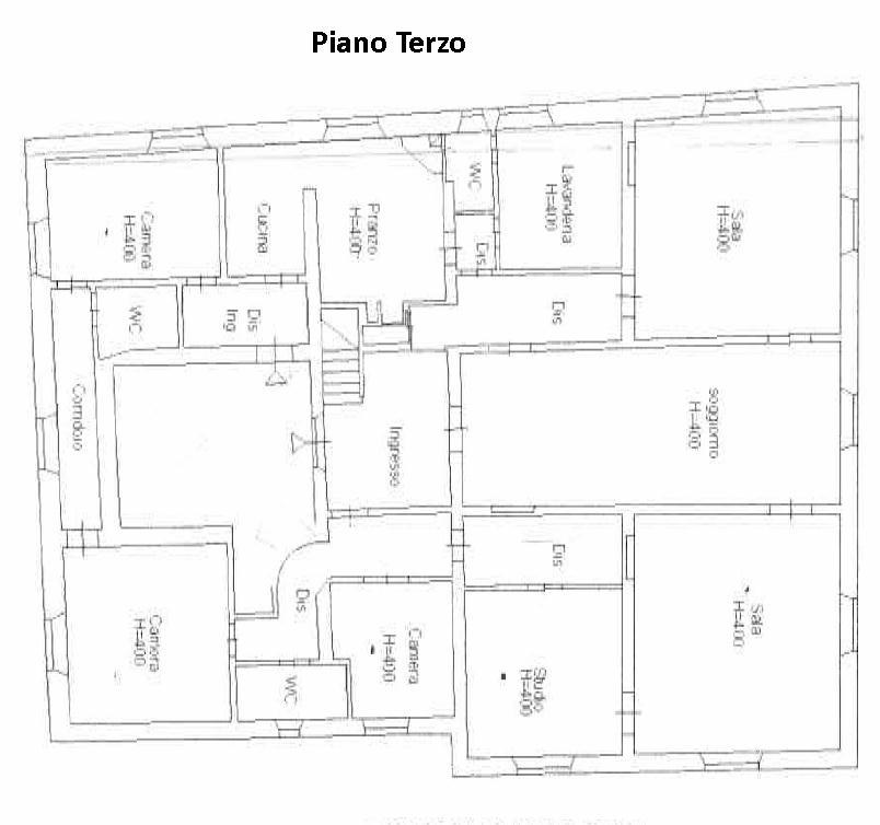 Planimetria 1/2 per rif. 751