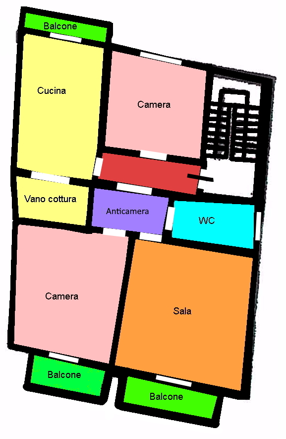Planimetria 1/3 per rif. 265