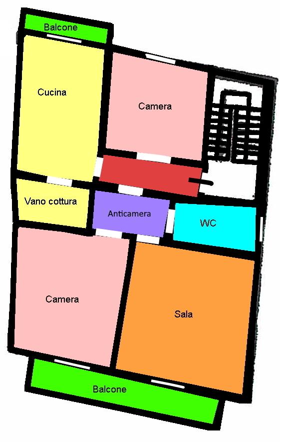 Planimetria 2/3 per rif. 265