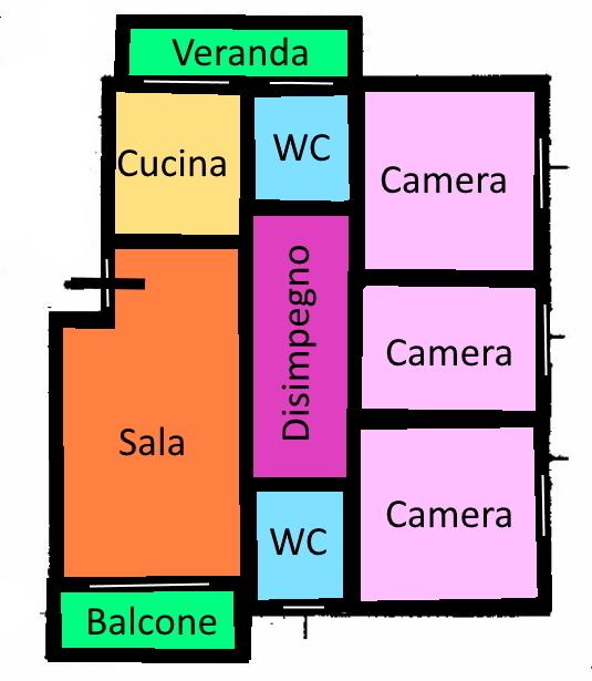 Planimetria 1/1 per rif. 298