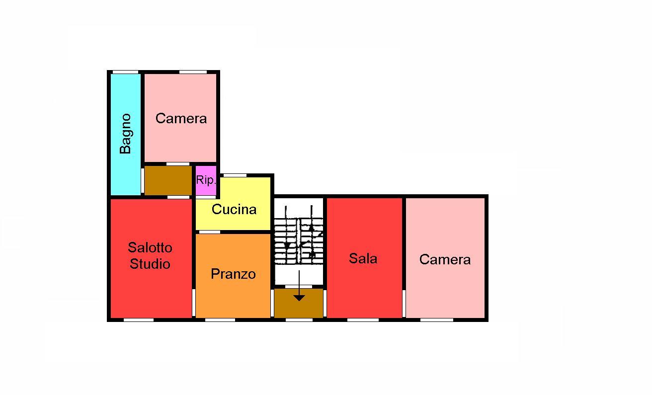 Planimetria 1/1 per rif. 284